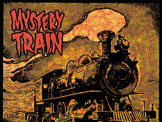 mystery train album cover