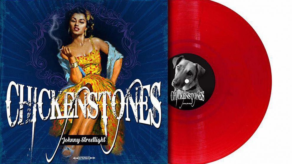 "Chickenstones 'Johnny Streetlight"" 12"" vinyl LP limited edition red vinyl"