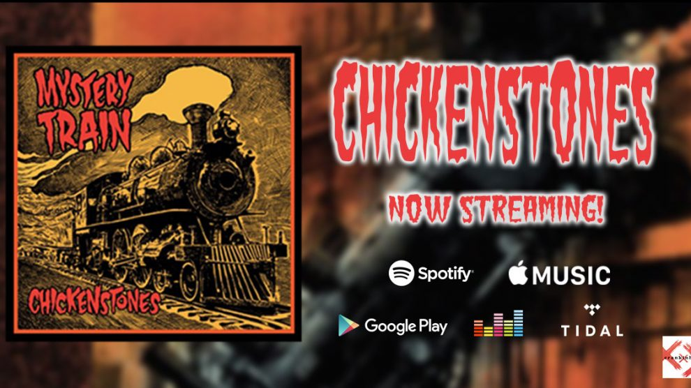Chickenstone' Mystery Train music streaming services